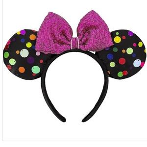 NWT DISNEY PARKS EARS   multi-colored